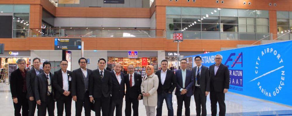 İstanbul Sabiha Gökçen Havalimanı ile Batı Java Eyaleti Toplantı Düzenledi