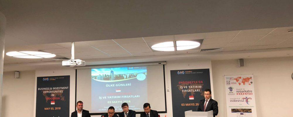 """İstanbul Dünya Ticaret Merkezi """"Endonezya Ülke Günü"""" Programını Başarıyla Gerçekleştirildi"""
