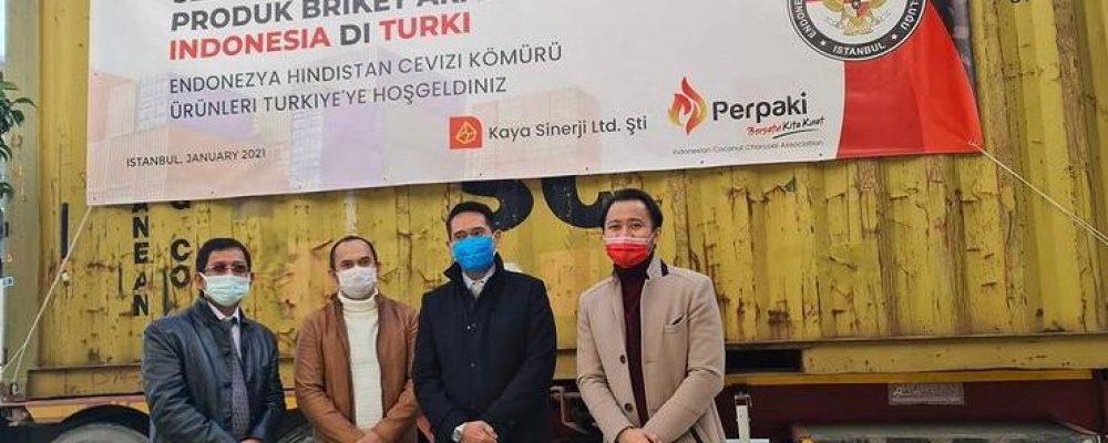 Endonezya Menşeli Hindistan Cevizi Kömürü Türkiye Pazarına Başarıyla Giriş Yaptı