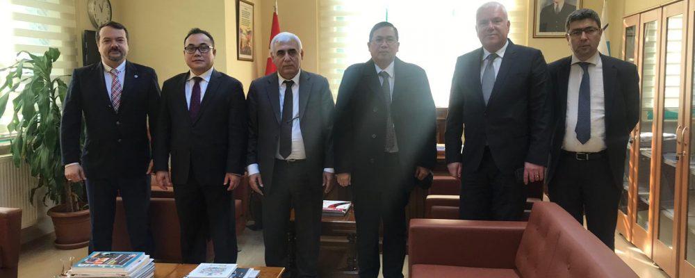 Bursa Serbest Bölgesi ile Görüşme