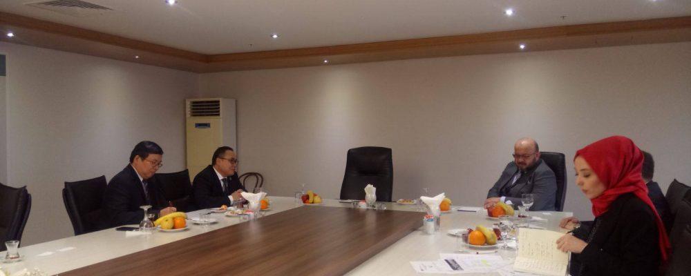 Endonezya Başkonsolosluğu ve İstanbul Dünya Ticaret Merkezi Ekonomik İlişkileri Güçlendirme Konusunda İşbirliği Yapacak